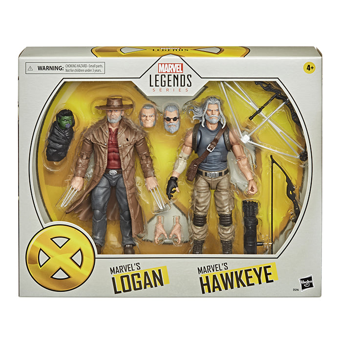 Marvel Legends 6 Inch Action Figure 2-Pack - Hawkeye and Logan