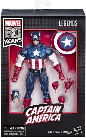 Marvel Legends 6 Inch Action Figure 80 Years Anniversary - Captain America