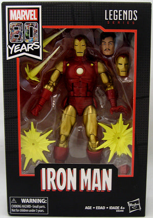 Marvel Legends 6 Inch Action Figure 80 Years Anniversary - Classic Iron Man