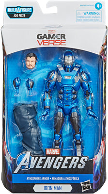 Marvel Legends Avengers 6 Inch Action Figure BAF Joe Fixit Series Gamerverse - Atmosphere Armor Iron Man