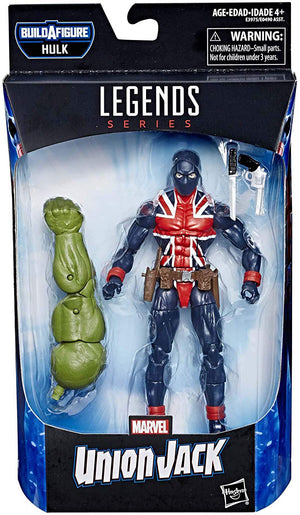 Marvel Legends Avengers Endgame 6 Inch Action Figure Hulk Series - Union Jack