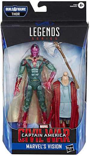 Marvel Legends Avengers Endgame 6 Inch Action Figure Bro Thor Series - Vision