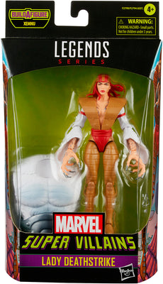 Marvel Legends 6 Inch Action Figure BAF Xemnu - Lady Deathstrike