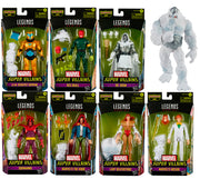 Marvel Legends 6 Inch Action Figure BAF Xemnu - Set of 7 (Build-A-Figure Xemnu)