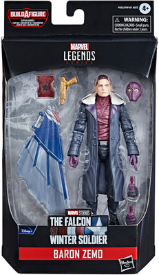 Marvel Legends Captain America 6 Inch Action Figure BAF Flight Gear - Baron Zemo