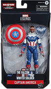 Marvel Legends Captain America 6 Inch Action Figure BAF Flight Gear - Captain America Sam Wilson