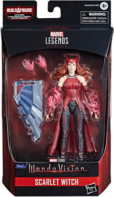 Marvel Legends Captain America 6 Inch Action Figure BAF Flight Gear - Scarlet Witch