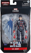 Marvel Legends Captain America 6 Inch Action Figure BAF Flight Gear - U.S. Agent
