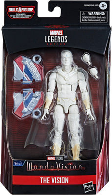 Marvel Legends Captain America 6 Inch Action Figure BAF Flight Gear - White Vision