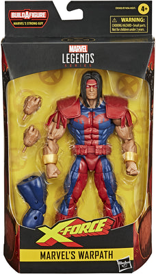 Marvel Legends Deadpool 6 Inch Action Figure BAF Strong Guy Series - Warpath