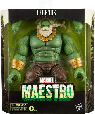 Marvel Legends 6 Inch Action Figure Deluxe - Maestro Hulk