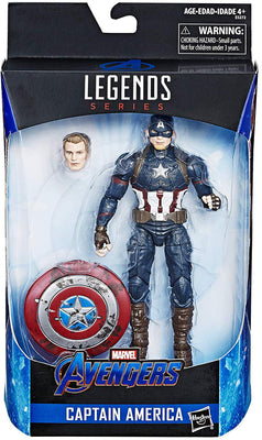 Marvel Legends 6 Inch Action Figure Exclusive - Captain America Worthy