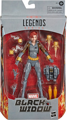Marvel Legends 6 Inch Action Figure Exclusive - Grey Suit Black Widow