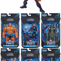Marvel Legends Fantastic Four 6 Inch Action Figure Super Skrull Series - Set of 6 (Build-A-Figure Super Skrull)