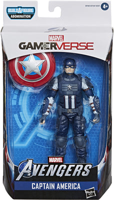 Marvel Legends 6 Inch Action Figure Gamerverse Abomination Series - Captain America