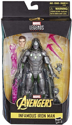 Marvel Legends Infinite 6 Inch Action Figure Exclusive - Infamous Iron Man