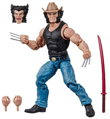 Marvel Legends 6 Inch Action Figure Marvel 80 Years Exclusive - Cowboy Logan
