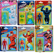 Marvel Legends Retro 3.75 Inch Action Figure Series 2 - Set of 6