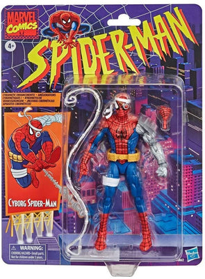 Marvel Legends Retro 6 Inch Action Figure Spider-Man Exclusive - Cyborg Spider-Man