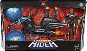 Marvel Legends 6 Inch Action Figure & Vehicle Set Riders Series - Cosmic Ghost Rider