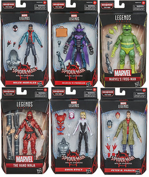 Marvel Legends Spider-Man 6 Inch Action Figure BAF Stilt-Man - Set of 6 (Build-A-Figure Stilt-Man)