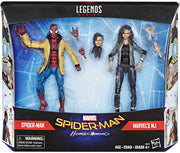 Marvel Legends Spider-Man 6 Inch Action Figure Exclusive 2-Pack Series - Spider-Man & MJ