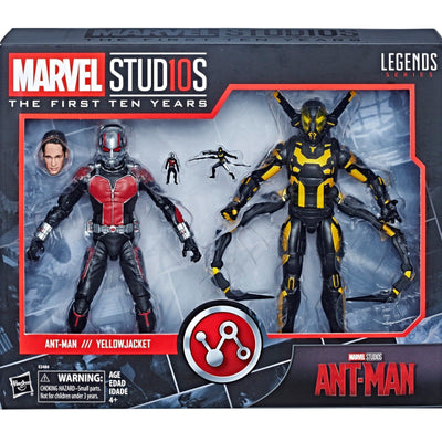 Marvel Legends Studios 6 Inch Action Figure 10th Anniversary Series - Ant-Man & Yellowjacket #8