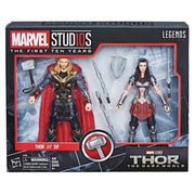 Marvel Legends Studios 6 Inch Action Figure 10th Anniversary Series - Thor & Sif #5