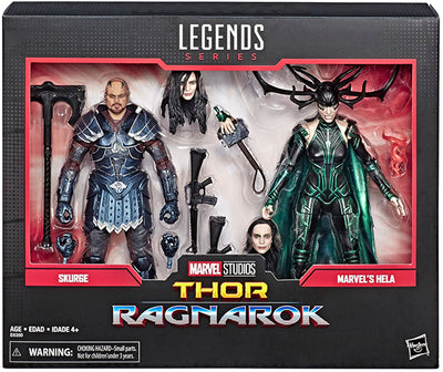 Marvel Legends Studios 6 Inch Action Figure 2-Pack Series - Skurge & Hela
