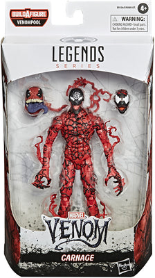 Marvel Legends Venom Series 6 Inch Action Figure BAF Venompool - Carnage