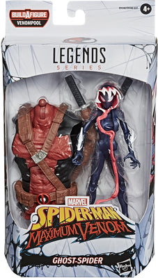 Marvel Legends Venom Series 6 Inch Action Figure BAF Venompool - Ghost Spider