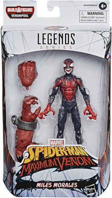 Marvel Legends Venom Series 6 Inch Action Figure BAF Venompool - Miles Morales