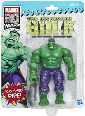 Marvel Legends Vintage 10 Inch Action Figure Deluxe Exclusive - The Incredible Hulk SDCC 2019