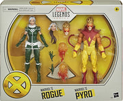 Marvel Legends X-Men 6 Inch Action Figure 2-Pack - Rogue and Pyro