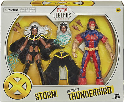 Marvel Legends X-Men 6 Inch Action Figure 2-Pack - Storm & Thunderbird