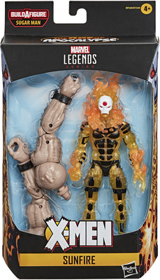 Marvel Legends X-Men 6 Inch Action Figure AOA Sugar Man Series - AOA Sunfire