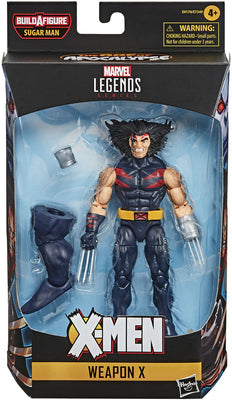 Marvel Legends X-Men 6 Inch Action Figure AOA Sugar Man Series - AOA Weapon X