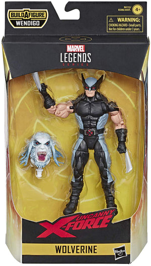 Marvel Legends X-Men 6 Inch Action Figure Wendigo Series - X-Force Wolverine