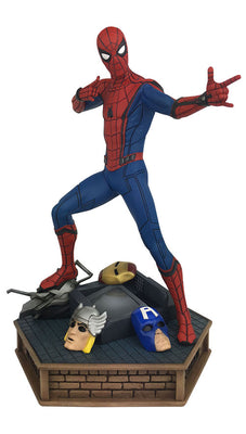 Marvel Premier Collection 12 Inch Statue Figure Spider-Man Homecoming - Spider-Man