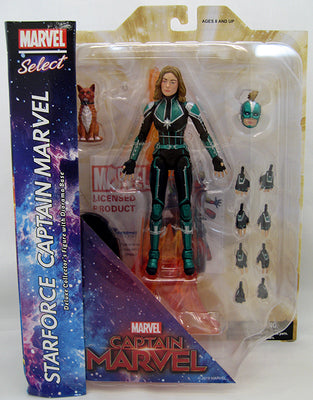 Marvel Select 7 Inch Action Figure Captain Marvel Movie - Captain Marvel