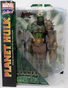 Marvel Select Comic Series 10 Inch Action Figure Planet Hulk - Gladiator Hulk