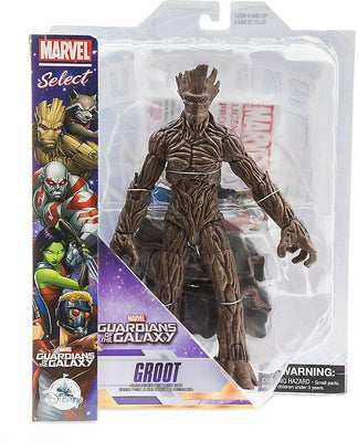 Marvel Select 7 Inch Action Figure Guardians Of The Galaxy - Groot Exclusive