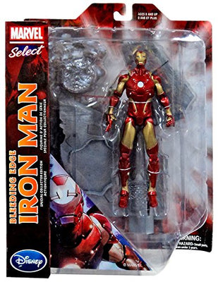 Marvel Select 7 Inch Action Figure Iron Man - Bleeding Edge Iron Man Exclusive (Shelf Wear Packaging)