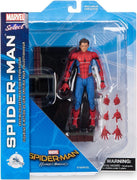 Marvel Select 7 Inch Action Figure Spider-Man Homecoming - Unmasked Spider-Man Exclusive