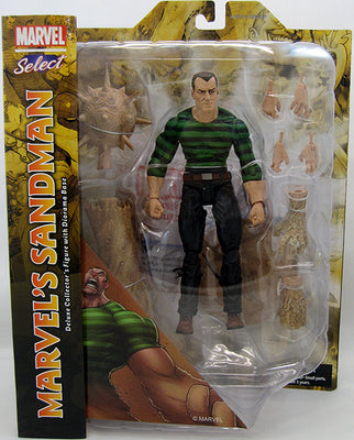 Marvel Select 7 Inch Action Figure Spider-Man Series - Sandman