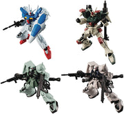 Mobile Suit Gundam G 4 Inch Action Figure Shokugan Volume 13 - Set of 4