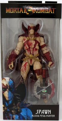 Mortal Kombat 4 7 Inch Action Figure - Spawn Blood Feud Hunter