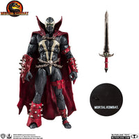 Mortal Kombat 7 Inch Action Figure Spawn - Spawn With Sword
