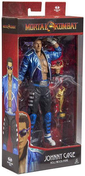 Mortal Kombat 7 Inch Action Figure Ultra Articulation Series - Johnny Cage