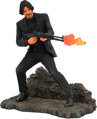 Movie Gallery 9 Inch PVC Statue John Wick 3 - John Wick Catacombs